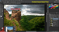 Content Aware Scale, curs Adobe Photoshop CC
