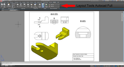 Base Projection Autocad